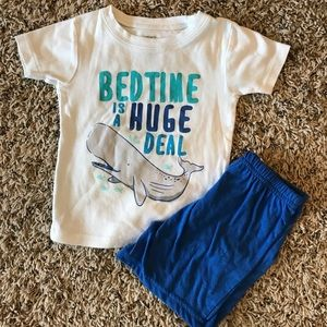 Toddler Whale PJ's
